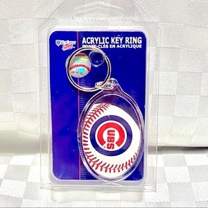 ♥ 2 for 20$ ♥ Chicago Cubs Keychain new